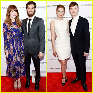 Emma Stone Makes Her Movie Premiere a Big 'Amazing Spider-Man 2' Reunion!