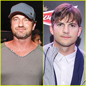 Gerard Butler & Ashton Kutcher Are Such Studs at FIFA World Cup Pa