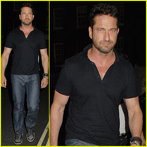 Gerard Butler Looks Like a Serious Stud After Hugo Boss Fragrance Announcement