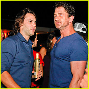 Gerard Butler & Taylor Kitsch Hang Out in Brazil During World Cup Party!