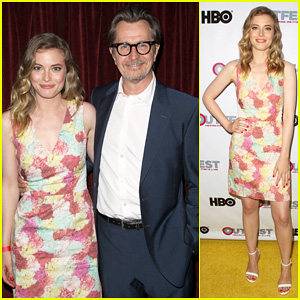 Gillian Jacobs Joins Gary Oldman for 'Life Partners' Screening at Outfest Opening Night Gala 2014!