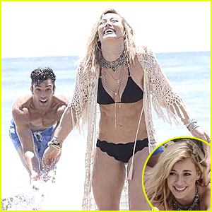Hilary Duff Flaunts Sexy Bikini Body in 'Chasing the Sun' Music Video -
