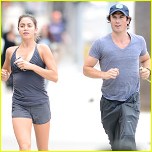 Ian Somerhalder Gets His Heart Pumping With Nikki Reed By His Side!