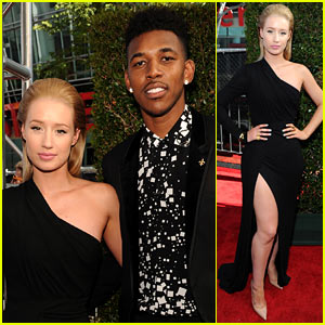 Iggy Azalea Supports Boyfriend Nick Young at ESPYs 2014
