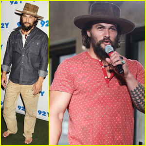 Jason Momoa Hits Red Carpet Barefoot for Screening of his Directorial Debut 'Road to Paloma'