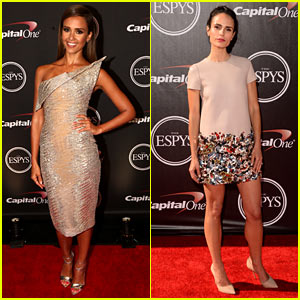 Jessica Alba & Jordana Brewster Shine at the ESPYs 2014
