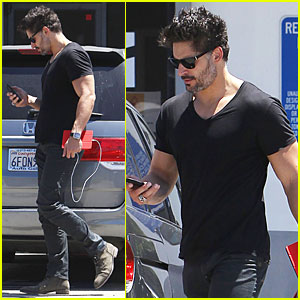 Joe Manganiello Took Sexy 'True Blood' Prop & Will Frame It in His Bathroom!