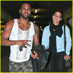 Jason Derulo & Jordin Sparks Make It A Movie Night