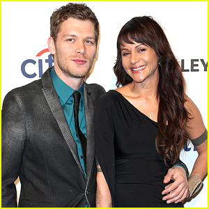 Joseph Morgan and wife