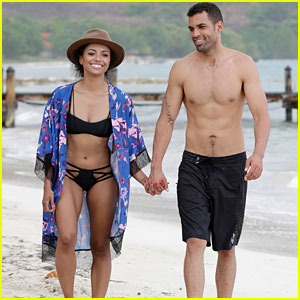 Kat Graham & Cottrell Guidry Take a Romantic Beach Vacation to Jamaica!