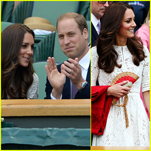 Kate Middleton & Prince William Cheer On Andy Murray at Wimbledon!
