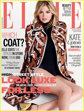 Kate Upton Talks Insecurities & Losing Weight in 'Elle UK's September 2014 Issue