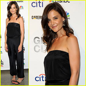 Katie Holmes Rocks a Jumpsuit at Global Citizen Festival