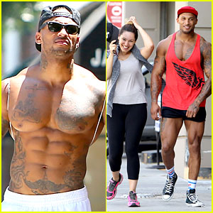 Kelly Brook's Fiance David McIntosh Should Always Go Shirtless
