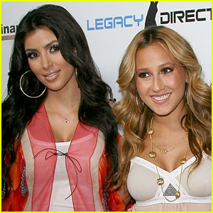 Kim Kardashian Throws Shade at Adrienne Ba