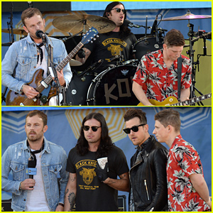 Kings of Leon Perform Their Hit Songs on 'Good Morning America' - Watch Now!