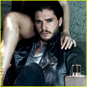 Kit Harington Takes His Throne in Jimmy Choo's New Campaign