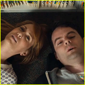 Kristen Wiig & Bill Hader Showcase Lip-Synching Skills in 'Skeleton Twins' Trailer - Watch Now!