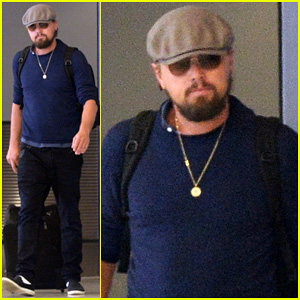 Leonardo DiCaprio Jets Out of Miami After Going Shirtless fo