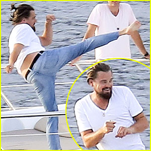 Leonardo DiCaprio's Karate Moves N
