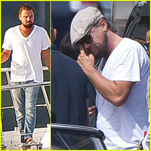 Leonardo DiCaprio Wants Autographed Pic Of Himself & Nelson Mand