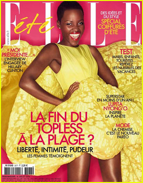 Lupita Nyong'o Makes Us Love Summer With Stunning 'Elle France' Cover!