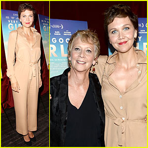 Maggie Gyllenhaal Supports Mom Naomi Foner's Film 'Very Good Girls'!