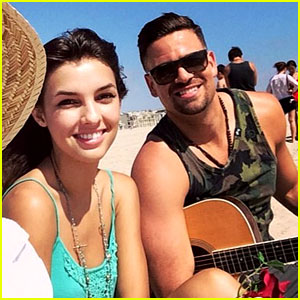 Glee's Mark Salling, 31, Dating Disney Star Denyse Tontz, 1
