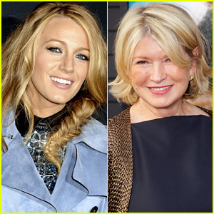How Does Martha Stewart Really Feel About Those Blake Lively Comparisons?