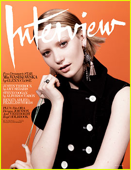 Mia Wasikowska Envisions Herself as a 30-Year-Old Pregnant College Student One Day