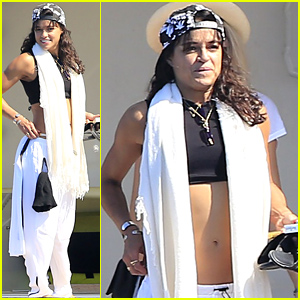 Michelle Rodriguez Can't Keep Away From Europe for Too Long, Returns & Hangs on a Yacht in Ibiza!