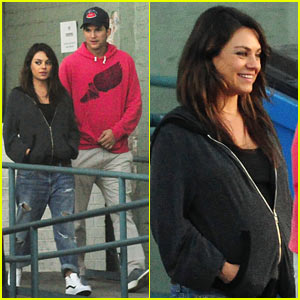 Mila Kunis Satisfies Her Pregnancy Craving for Burgers!