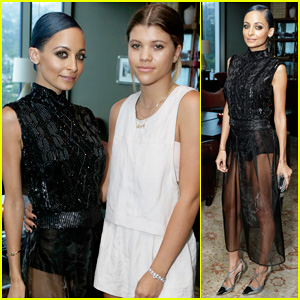 Nicole Richie Gets Support from Younger Sister Sofia at 'Candidly Nicole' Influencer Event!