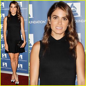 Nikki Reed Attends Grammy Party After Farmer's Market Fun with Ian Somerhalder