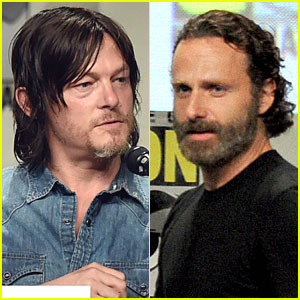 Norman Reedus & Andrew Lincoln Bring 'Walking Dead' to Comic-Con