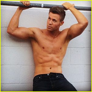 O-Town's Ashley Parker Angel Shows Off His Fit Shirtless Body for New Photo Shoot!