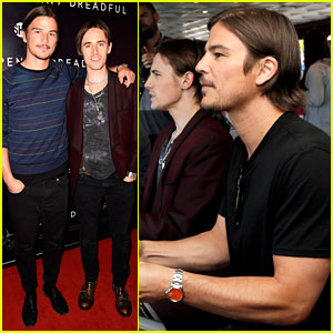 Penny Dreadful's Josh Hartnett & Reeve Carney are Real Life Game Boys!