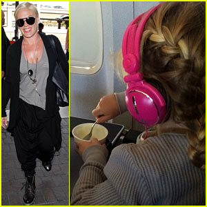 Pink's Daughter Willow 'Likes to Travel' According to Carey Hart!