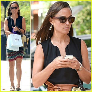 Pippa Middleton Gets Back to Work After Attending Nephew Prince George's 1st Birthday Bash!