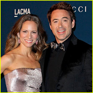 Robert Downey, Jr. & Wife Susan Expectin