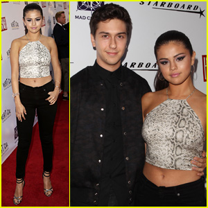 Selena Gomez Flaunts Her Flat Abs at 'Behaving Badly' Premiere