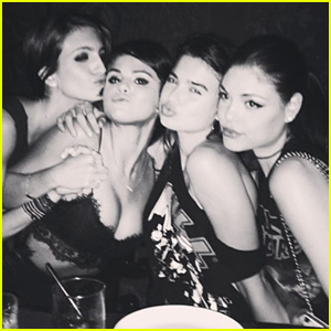 Selena Gomez Parties with Pals in New York City - See the Pics!