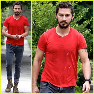 Shia LaBeouf Steps Out for the Day with His Fly Unzipped