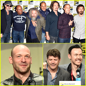 'Sons of Anarchy' & 'The Strain' Casts Present Their Shows at Comic-Con 2014!