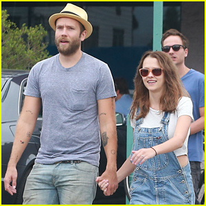 Teresa Palmer Debuts Newly Dyed Brown Hair for Mark Webber's Birthday Lunch!
