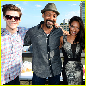 'The Flash' Cast Has a Blast at Buzzfeed's Rooftop Flash Bash