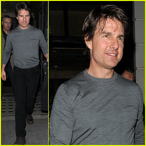 Tom Cruise Steps Out After 'Mission: Impossible 5' Casting News