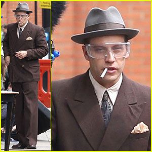 Tom Hardy Looks Completely Unrecognizable With Prosthetics For 'Legend'!