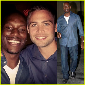 Tyrese Parties with Paul Walker's Brothers at 'Emotional & Bittersweet' Wrap Party for 'Fast & Furious 7'