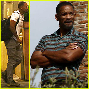 Will Smith Continues His Solo Vacation in Tuscany & Takes in All the Sights!